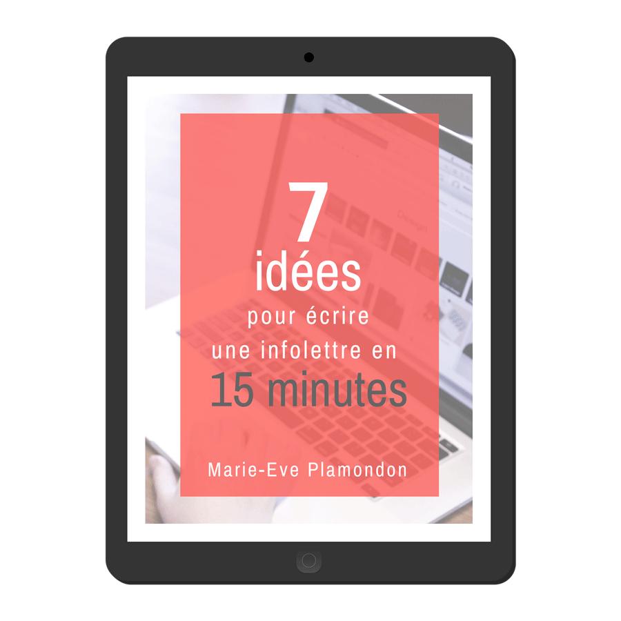 Envoyez votre prochaine infolettre en 15 minutes!