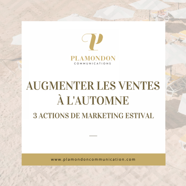 Augmenter les ventes