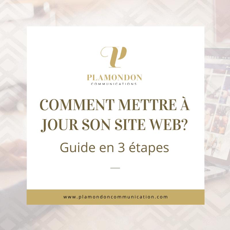 Comment mettre à jour son site Web (guide en 3 étapes)?